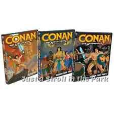Conan The Adventurer: Series Complete Seasons 1 & 2 Parts 1 & 2 Box/DVD Set(s)
