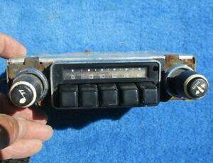 1978 Chevy Chevette Pontiac T1000 AM Radio Original GM Clean Face  From Estate