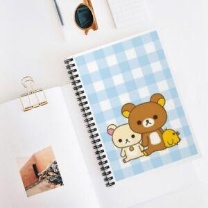 Kawaii bears Spiral Notebook - Ruled Line