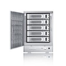 TR5M+NC - 5 Bay eSATA Port Multiplier JBOD Tower (no eSATA card bundled)(Silver)