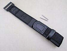Genuine Luminox 22mm 27mm nylon fabric watch band black 3000 3050 3900