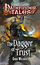 The Dagger of Trust Pathfinder Tales by Willrich Paperback Dungeons Dragons NEW
