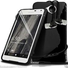 Fundas y carcasas transparente de color principal negro para teléfonos móviles y PDAs Nokia
