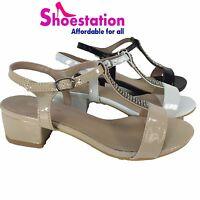 Women's Cute Strappy Open Toe Low Wedge Platform Sandal Shoes Size 5 - 10 NEW
