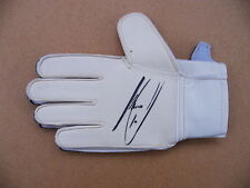 Certified: Obtained Personally M Signed Football Gloves