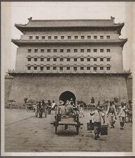1920's CHINA GRAVURE PAGEANT OF PEKING DONALD MENNIE - THE CHIEN MEN