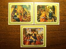 Niue 3 Sheetlets First Day Christmas 1978 Albrecht Durer - FREE SHIP