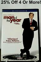 Man of the Year (DVD, 2007, Widescreen Edition, Canadian, Eng/Fre)