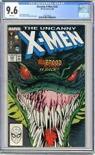X-Men  #232  CGC   9.6   NM+   White pgs  8/88  Marc Silvestri & Dan Green cover