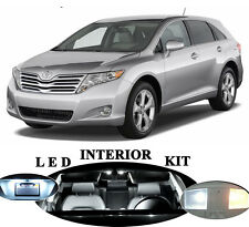 LED for Toyota Venza Xenon White LED Interior Package Upgrade (8 pieces)