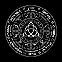Witch Calendar Tarot Cloth Decor Divination Cards Wicca Velveteen