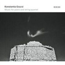 Konstantia Gourzi: Music for Piano and String Quartet (CD, Oct-2014, ECM)