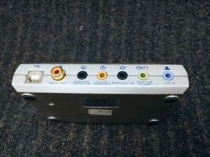 M-Audio Sonica Theater 7.1 USB Sound Card Interface 24-bit/96kHz SPDIF 3.5mm