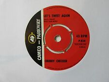 "Chubby Checker-Let's Twist Again / The Twist-Vinyl-7""-Single-Record-45-1960s"
