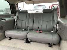 01-06 Chevy Tahoe GMC Yukon Cadillac Escalade Third Row Seats Grey Leather 3rd