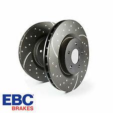 EBC Rear Brake Discs GD Upgrade Turbo Sports Discs GD1519 (Pair)