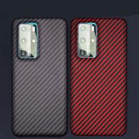100% Original Aramid Carbon Fiber Case Slim Cover Huawei P40 Pro Mate 30 P30 Pro
