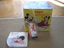 Walt Disney TOPOLINO Mickey Mouse 1973 Harbert TOPS diente brush cepillo BOX