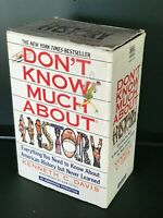Don't Know much about history by Kenneth C Davis (cassettes)