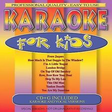 FREE US SH (int'l sh=$0-$3) NEW CD Various Artists: Karaoke for Kids Karaoke