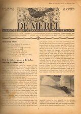 """JAARGANG DE MEREL 1939  (BIJBLAD """"HET KIND"""") - Mien Labberton (redactie)"""