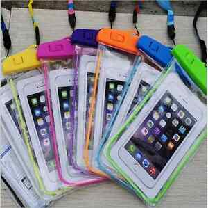 NEW Fluorescent Cover Bag Dry Pouch For Mobile Phone Waterproof Underwater  Case