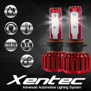 9006/9005 2PCS LED 400W 40000LM  Headlight High or Low Beam 6000K Kit Bulbs