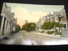 Hagerstown, Md, East Avenue, residential area color tint photo,excellent conditn