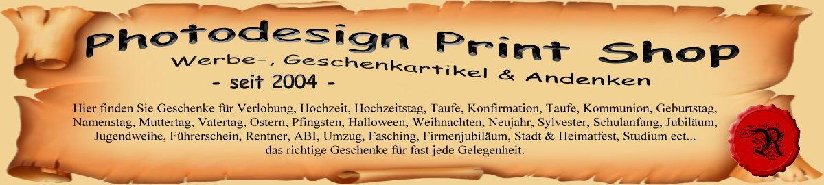 Photodesign Print Shop Rosena