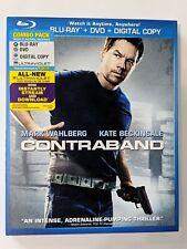 Contraband (Blu-ray + DVD + Digital Copy + UltraViolet) w/ Pristine Slipcover