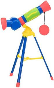LEARNING RESOURCES GEOSAFARI JR MY FIRST TELESCOPE WITH 10X MAGNIFICATION