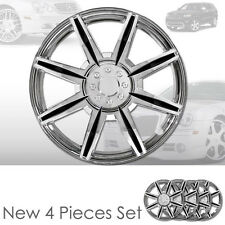 New 16 inch ABS Chrome Hubcaps Wheel Rim Covers Hubcaps Set 541 For Jeep