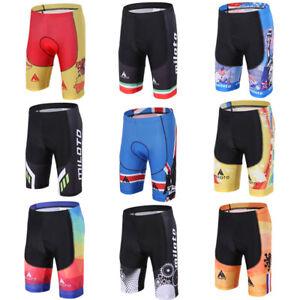 Men's Biking Shorts Gel Padded MTB Cycling Bike Bicycle Shorts Compression
