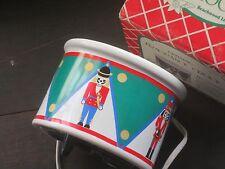 1990 Beachwood Ceramic Fragrance Crock Holiday Nutcrackers Pottery Potpourri Pot