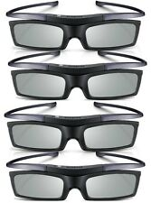 Lot of 4 New Samsung 4K HD UHD SUHD 3D Active TV Glasses SSG-5150GB SSG-510