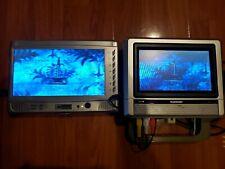 "Mustek PL8A9 9"" Portable Mntr/DVD Player, Kawasaki AVM678 7"" Mntr + Accessories"