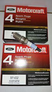 Brand New Set of 8  Motorcraft Spark Plug SP432 AGSF32FM