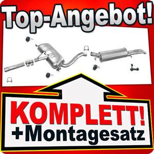 Auspuff AUDI A4 (B5) 2.6 2.8 12V Stufenheck / Kombi Auspuffanlage Y42
