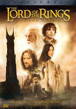 THE LORD OF THE RINGS-THE TWO TOWERS/2 DISC DVD/BUY ANY 4 ITEMS SHIP FREE