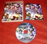 Dynasty Warriors Gundam 3 (Sony PlayStation 3, 2011) Complete w/ manual *TESTED*