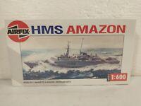 1992 Airfix British HMS Amazon Type 21 Frigate 1:600 Model Kit # 02204