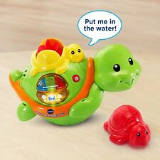 Vtech Baby Safe Turtle Thermometer Ages 2+ New Toy Play Gift Boys Girls Water
