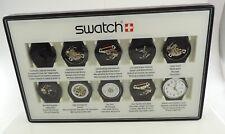 Swatch Uhr Kollektion Set / Sonderedition mit 10 Werken
