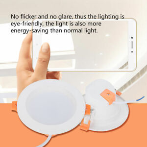 RGB+W LED Dimming Downlight Ceiling Light WiFi Smart Bulb Voice App Control Lamp