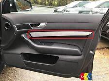 Neuf Véritable Audi A6 C6 Droit O/S Porte Carte Aluminium Bordure 4F08674101MJ