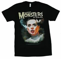 Famous Monsters of Filmland Mens T-Shirt - Bride of Frank Image