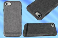 INCIPIO Esquire Series Fabric Case - For iPhone SE (2020). 7 & 8 - Carnaby Grey
