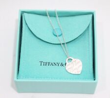 "Tiffany & Co. Sterling Silver Notes ""I Love You"" Pendant Necklace"