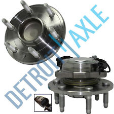 Set of 2 Front Driver and Passenger Wheel Hub and Bearing Assembly w/ ABS - 2WD