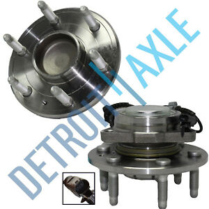 2WD Front Wheel Hub Bearing and Hub for 07-13 Chevy Silverado GMC Sierra 1500